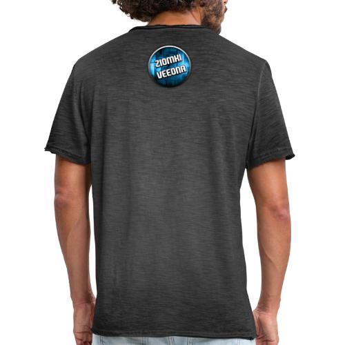 Logo - Koszulka męska vintage