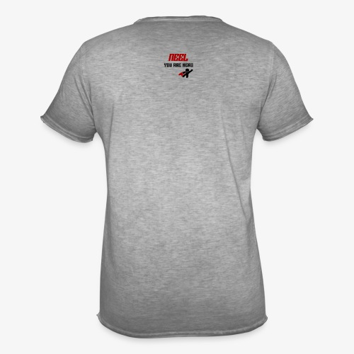 NEEL You Are Hero - Koszulka męska vintage