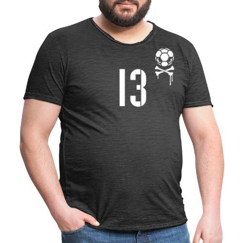 skull 13 1c inv - Männer Vintage T-Shirt