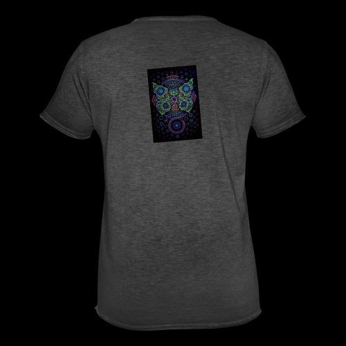 psychedelisch, psy, Dope, Goa, Farbig - Männer Vintage T-Shirt