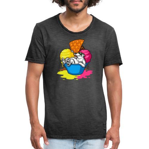 eisbär - Männer Vintage T-Shirt