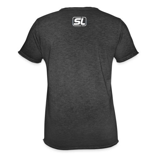 SL BWihte - Männer Vintage T-Shirt