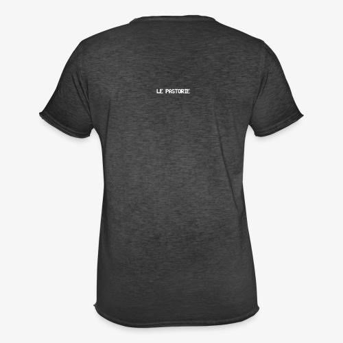 Subtiel_Wit - Mannen Vintage T-shirt