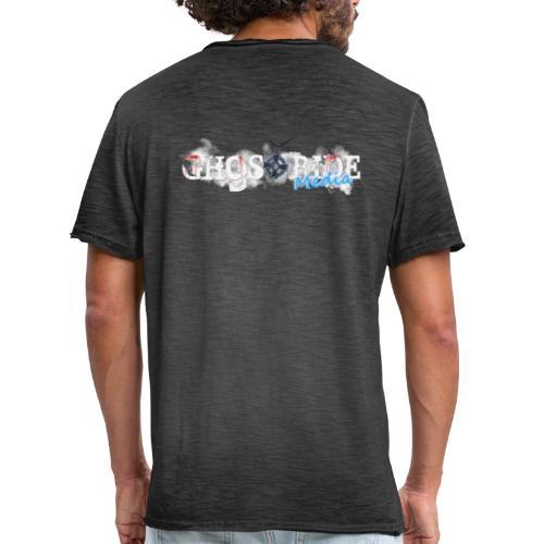 GhostRide Media LOGO 2019 - Vintage-T-shirt herr