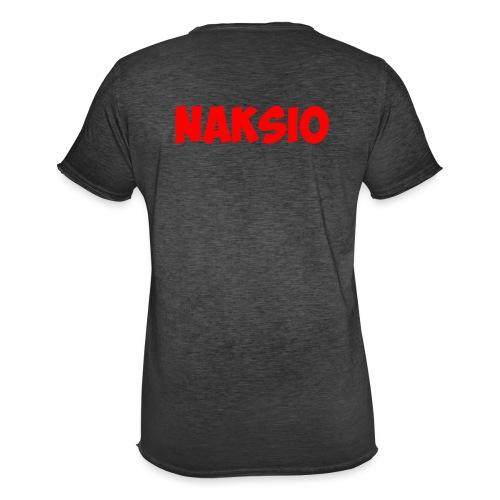 T-shirt NAKSIO - T-shirt vintage Homme