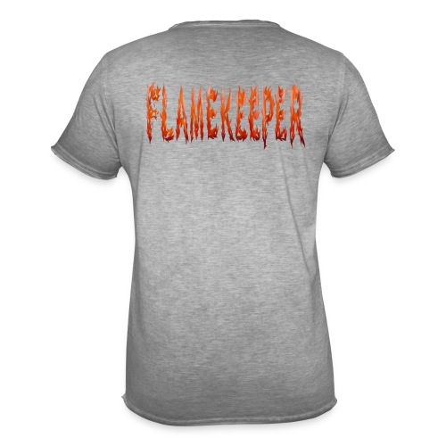 flamekeeper name logo - Mannen Vintage T-shirt