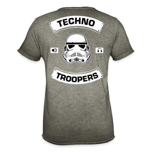 techno troopers - Männer Vintage T-Shirt