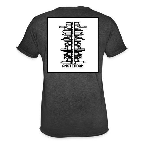 liberty city records amsterdam 1 - Mannen Vintage T-shirt