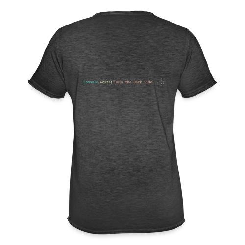IDE Programming Dark Theme C# - Maglietta vintage da uomo
