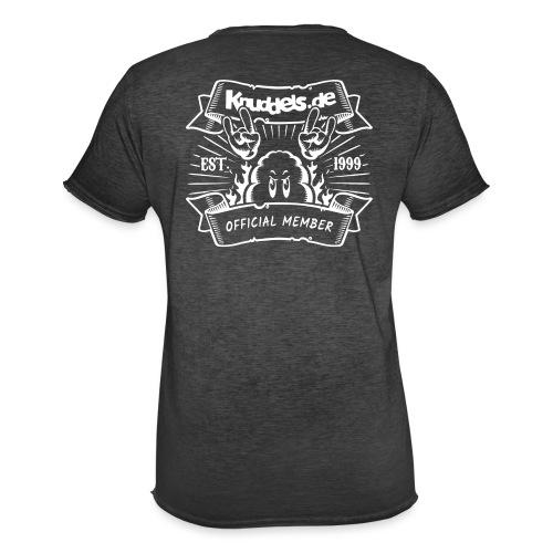 Knuddels Club Colors - Männer Vintage T-Shirt