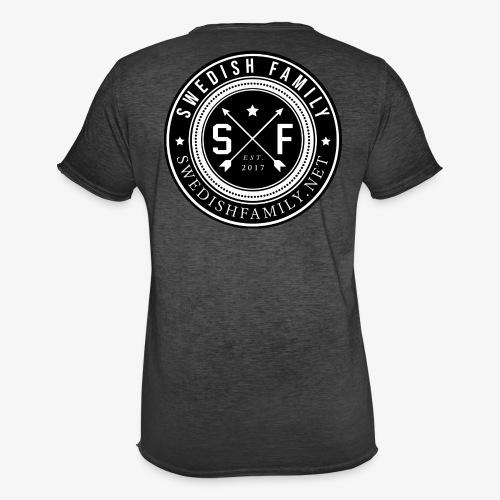 Swedish Family - Vintage-T-shirt herr