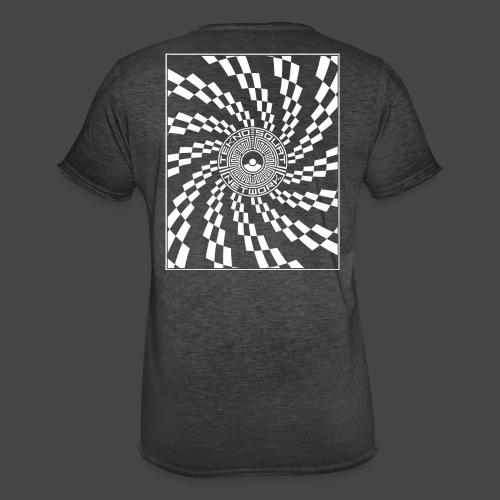 TEKNOSQUAT RÉSEAU SPIRAL - T-shirt vintage Homme
