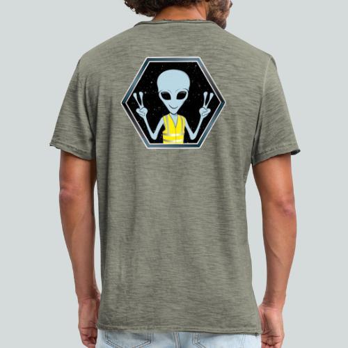 Extraterrestre Gilet jaune - T-shirt vintage Homme