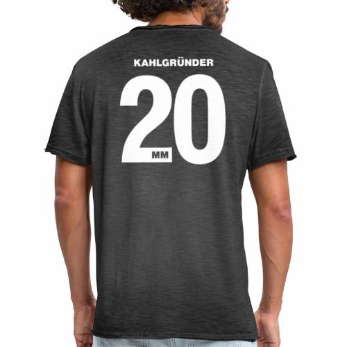 Kahlgruender 2020 - Männer Vintage T-Shirt