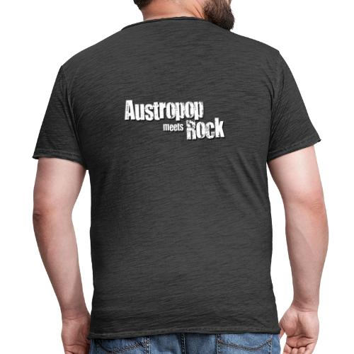 Austropop meets Rock classic back - Männer Vintage T-Shirt