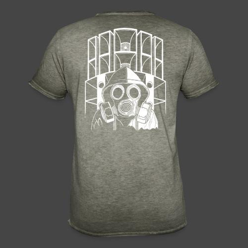 tekno 23 masque à gaz - T-shirt vintage Homme