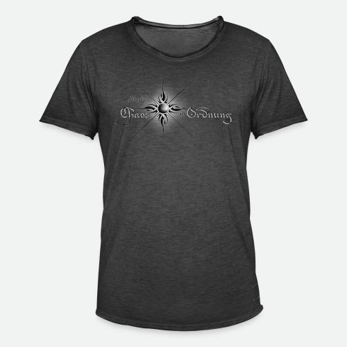 Chroniken Schriftzug hell - Männer Vintage T-Shirt