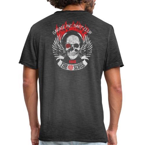 Dart Club Garage The Score 180 - Männer Vintage T-Shirt