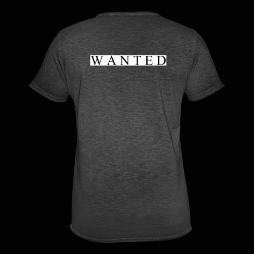 Wanted ecrit - T-shirt vintage Homme