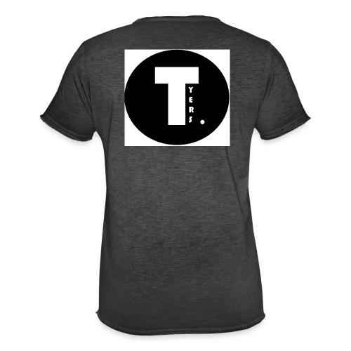 T by Tyers Logo au dos - T-shirt vintage Homme