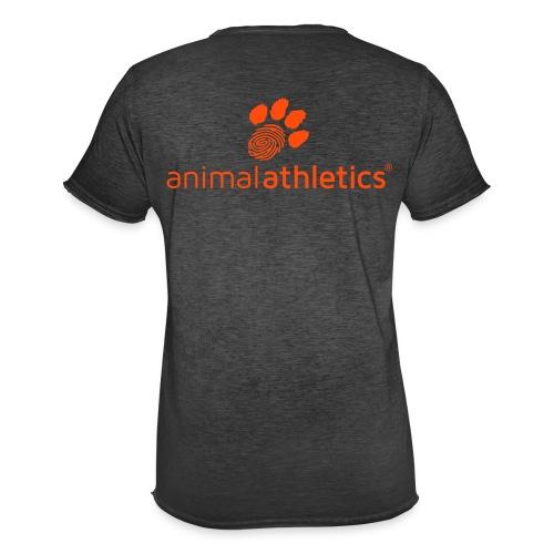 Animal Athletics Paw - Männer Vintage T-Shirt