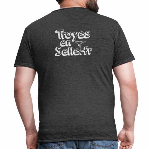 logo Troyes en Selle - T-shirt vintage Homme
