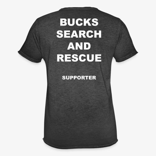 BSAR Supporter Text - Men's Vintage T-Shirt