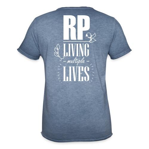 Role play - Living multiple lives - Herre vintage T-shirt