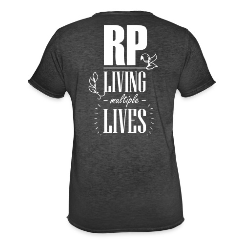 Role play - Living multiple lives - Herre vintage T-shirt