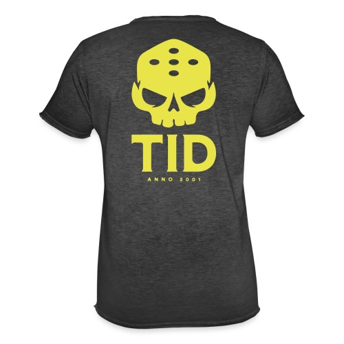 TID tryck rygg - Vintage-T-shirt herr