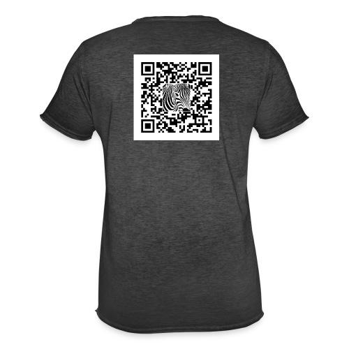QR Code Een sjans dat - Mannen Vintage T-shirt