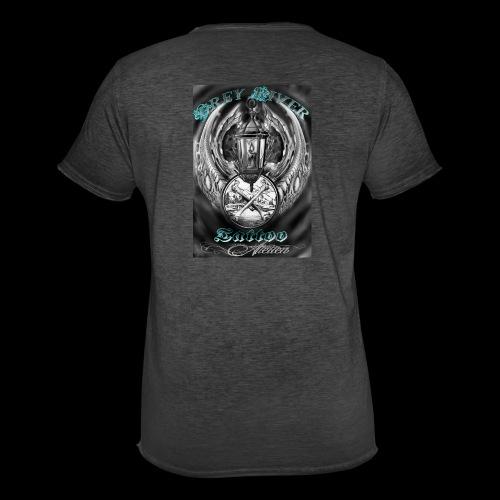 GreyRiverTattoo - Männer Vintage T-Shirt