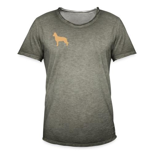 australiankelpie - Miesten vintage t-paita