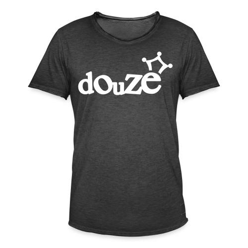 logo_douze - T-shirt vintage Homme