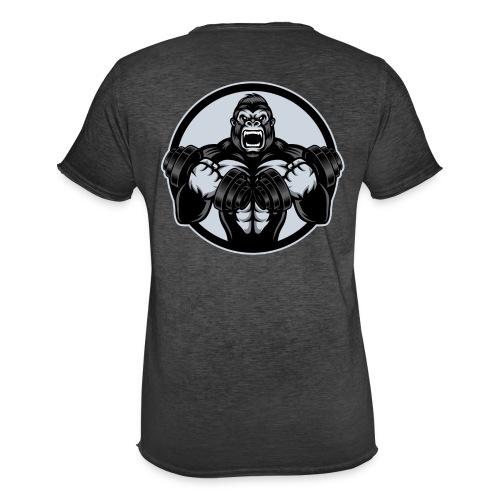 Gorilla - Männer Vintage T-Shirt