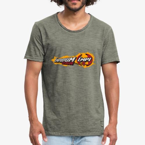 Logo EMPi fond jaune - T-shirt vintage Homme