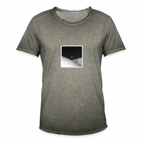 Moon pyramid - T-shirt vintage Homme