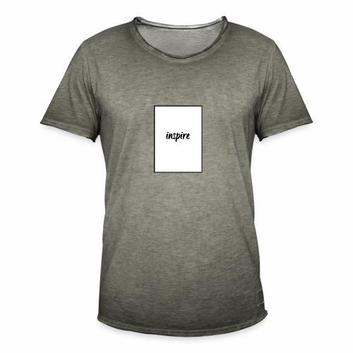 Inspire - Vintage-T-shirt herr