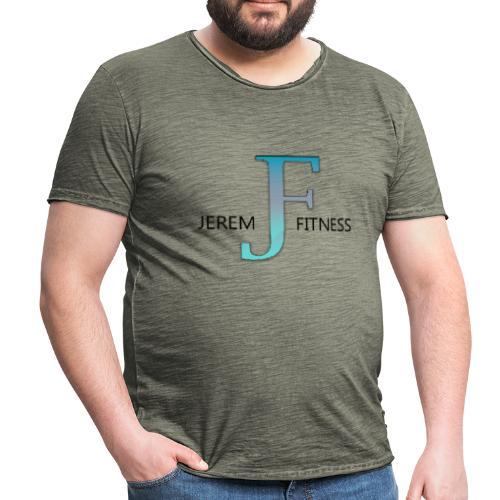 JeremFitness - T-shirt vintage Homme