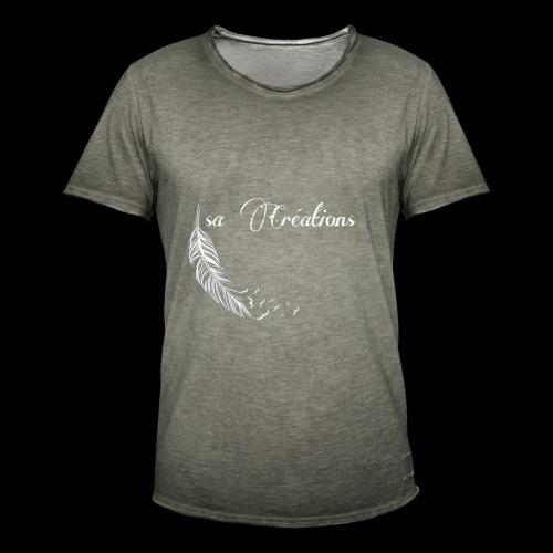 Isa Créations Logo - T-shirt vintage Homme