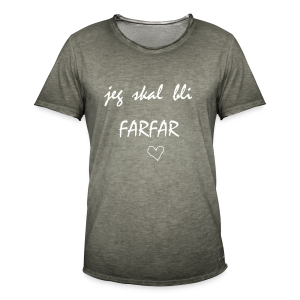 Farfar Collection - Vintage-T-skjorte for menn