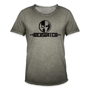 KickSwitch Logo with text - Men's Vintage T-Shirt