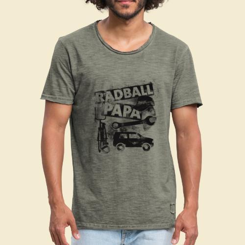Radball | Papa - Männer Vintage T-Shirt
