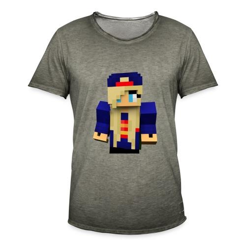Skin - Männer Vintage T-Shirt