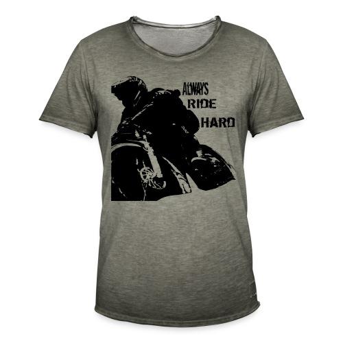 Alwaysridehard - Männer Vintage T-Shirt