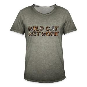 WildCatNetwork 1 - Männer Vintage T-Shirt