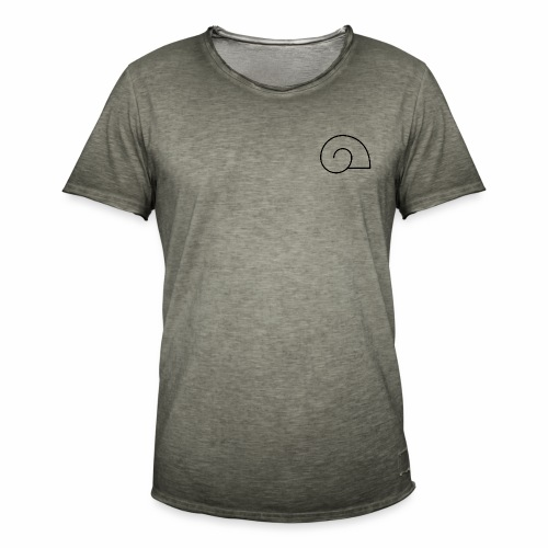 Snail King. - Camiseta vintage hombre