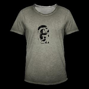 G Collection - Vintage-T-skjorte for menn