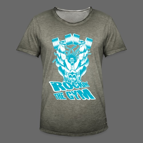 Hoacore - Rockin the Gym - Männer Vintage T-Shirt