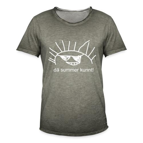 Summer - Männer Vintage T-Shirt